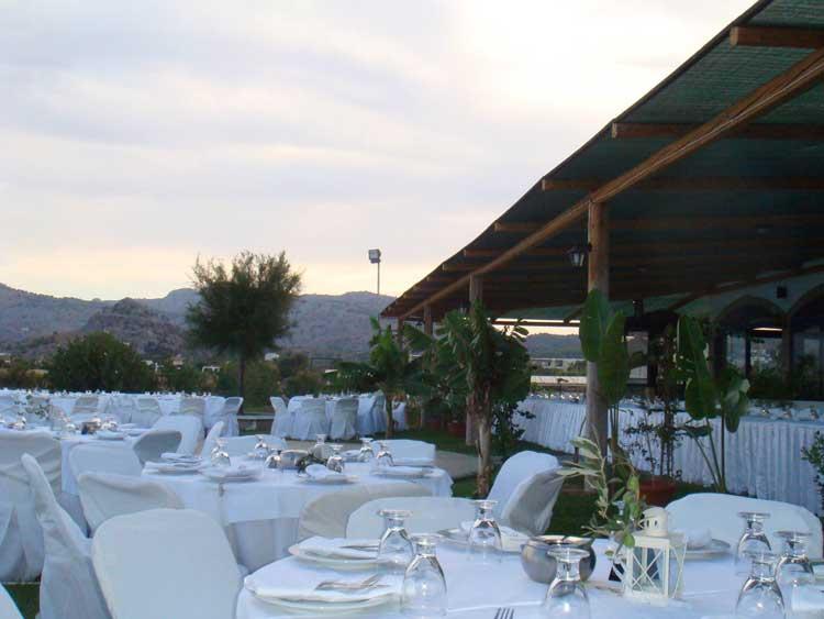 Rhodes Weddings Reception Ostria Taverna